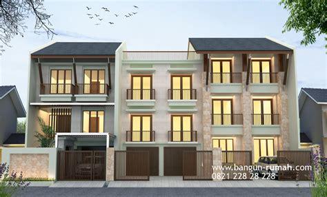 desain rumah kos  rumah tinggal  jakarta timur