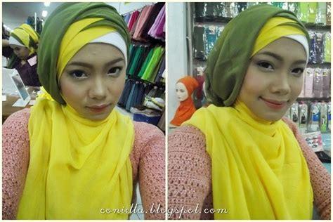tutorial jilbab wardah event beauty class with wardah tetap cantik saat