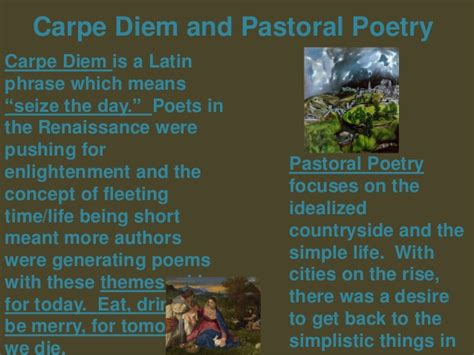 themes in pastoral literature adnan uoz english department 2nd year evening classes