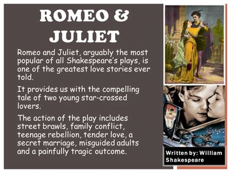 romeo and juliet character themes romeo and juliet characters theme and answer by