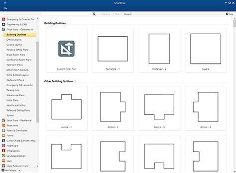 how to create a floor plan in word warehouse layout design software free