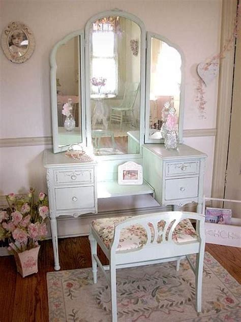 Vintage Bedroom Vanity Table by Simple White Antique Vanity Table Design With Reclining