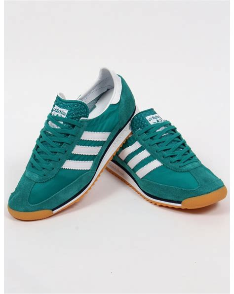 Adidas Green adidas sl 72 trainers eqt green white originals shoes