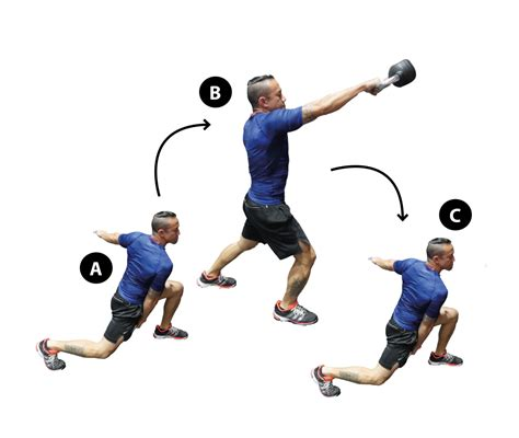 walking kettlebell swing build a chiselled frame