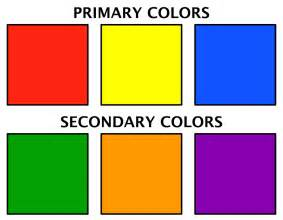 primary secondary colors mrs zink s october 2012