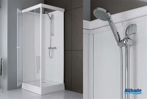 cabine de douche integrale en verre leda    cm