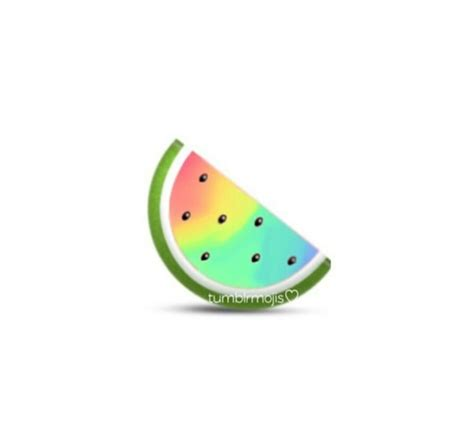 watermelon emoji watermelon and emoji by lara whi