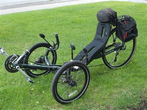 reclined bicycle used recumbent tricycles recumbent trike actionbent