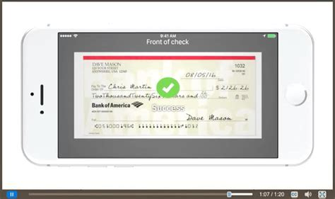 bank of america background check how to use mobile check deposit for fast simple deposits