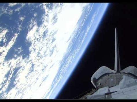 space shuttle orbits earth youtube