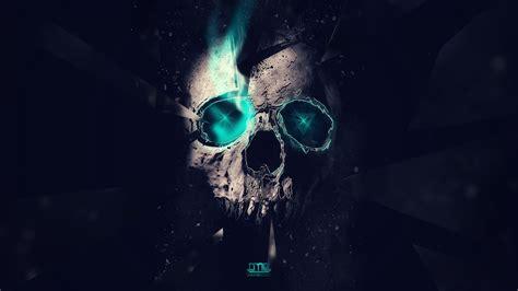 skull desktop wallpaper hddesktopwallpaperorg