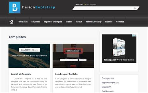 bootstrap layout spacing 15 webseiten voller kostenloser bootstrap themes dr web