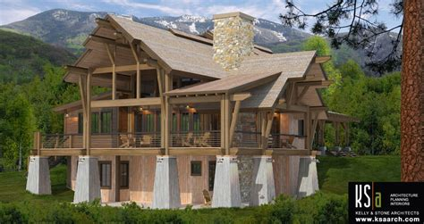 crested butte floor plan by canadian timber frames ltd