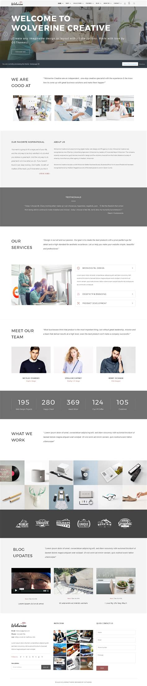 themes on shopify 5 shopify premium themes for photographers photo stores