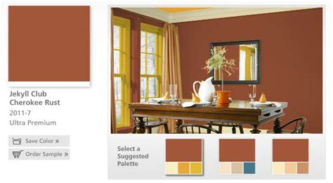 paint color valspar quot jekyll club rust quot national trust historic paint colors