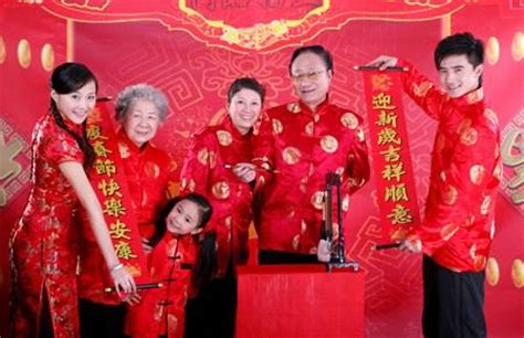 new year special clothes special new year family portrait photography