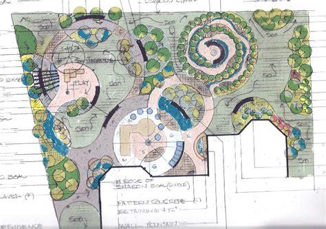 Split Level Design by Landscape Designs By Our Licensed Landscape Architect