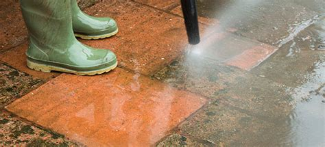 how to clean a patio with a pressure washer cleaning your patio with a pressure washer which