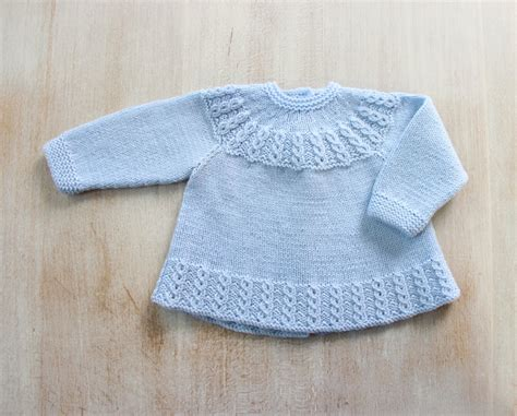 baby knitted jackets blue baby jacket in pdf instant