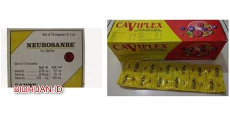 Vitamin Caviplex caviplex atau neurosanbe mana suplemen merk vitamin yang