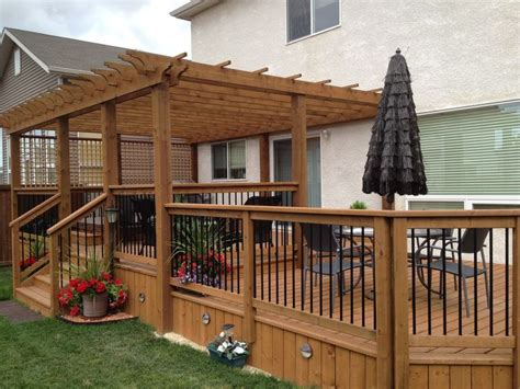 picture of deck bed best 25 tiered deck ideas on two level deck