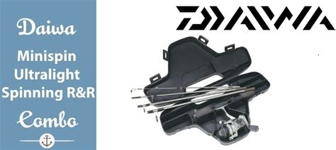 ultra light rod and reel combo daiwa mini system minispin ultralight spinning reel and