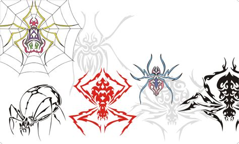 spider tattoo png spider tattoos vector images on cd or by download