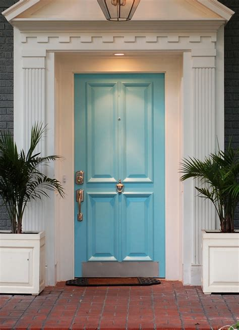 bright blue front door modern house design blue front door colors for grey house