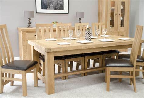 big oak dining table bordeaux oak large extending dining table oak