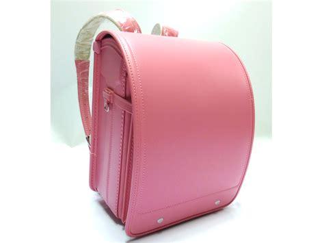 Tas Handbag Perempuan japanese randoseru backpack pink clarino kawaii