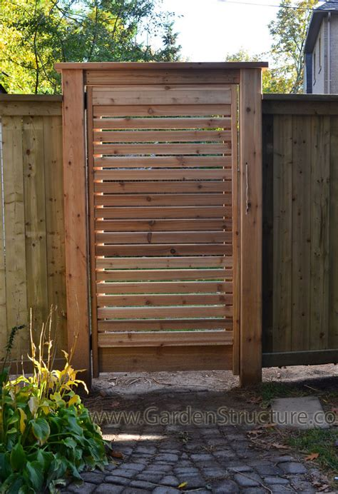 Garden Fence Gate Ideas Louver Wood Fences A Fence Design Gallery Privacy Fence