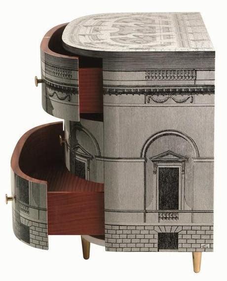 mobili fornasetti piero fornasetti e l arte di decorare paperblog