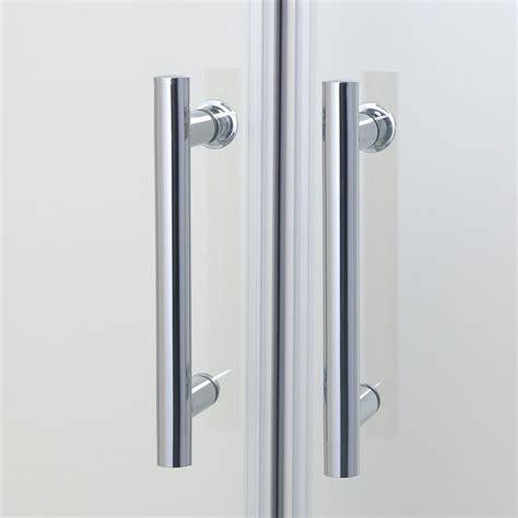 Sliding Glass Shower Door Handles Bifold Pivot Walk In Room Sliding Shower Door Enclosure Hinge Glass Cubicle Ebay