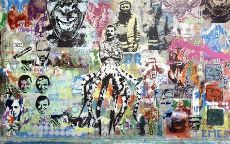 urban stencil wall art   graffitti