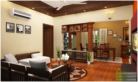 dining kitchen living room interior designs kerala home kerala home interior design living room home design and