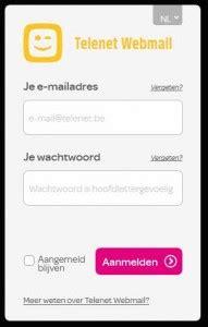 telenet webmail | webmail inloggen