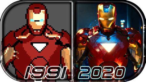 evolution iron man video games marvels