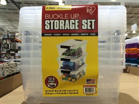 IRIS 6 Pack 12.9 Quart storage set ? CostcoChaser