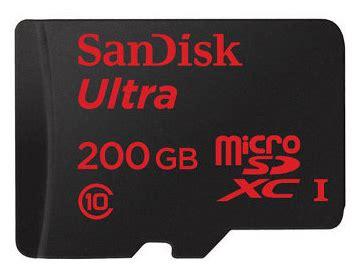 Kartu Memori Micro Sd Sandisk kartu memori microsd 200 gb sandisk dihargai 5 1 juta jeripurba