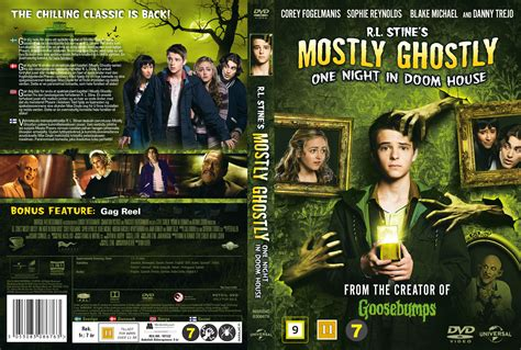 mostly ghostly one night in doom house r l stine s mostly ghostly one night in doom house