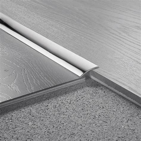 fliese 5mm logoclic 220 bergangsprofil edelstahl 1 m x 30 mm