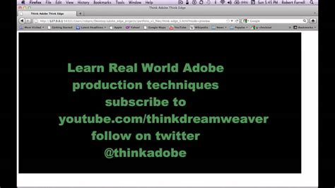 tutorial v8 javascript adobe edge jquery html5 text motion animation fx tutorial