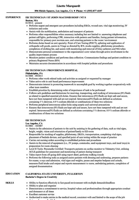 magnificent er tech resume objective images resume ideas