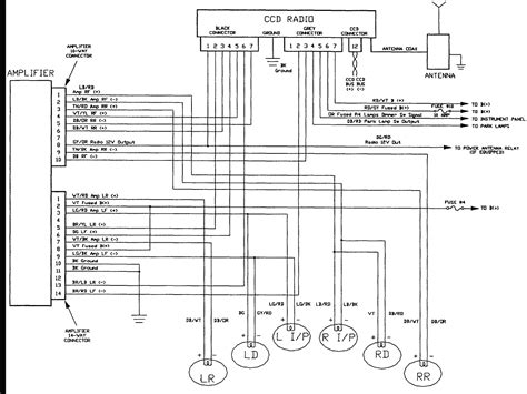 jeep zj radio wiring diagram wiring diagram with description