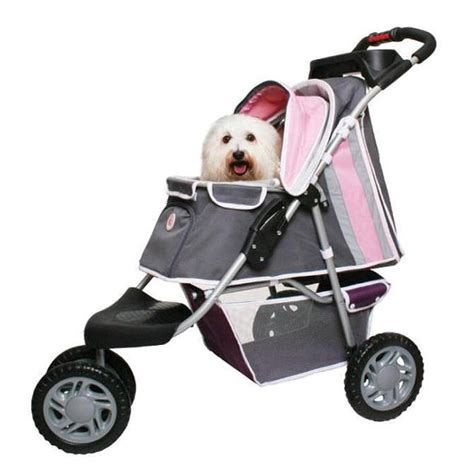 puppy strollers sporty stroller pink luxury strollers at glamourmutt