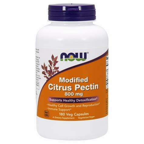 Modified Citrus Pectin Detox Protocol by Modified Citrus Pectin 800 Mg 180 Veg Capsules