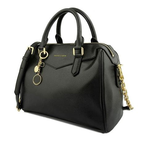 Tas Clutch Charles Keith F306 classic bowling bag black bowling bags charles keith things you likes