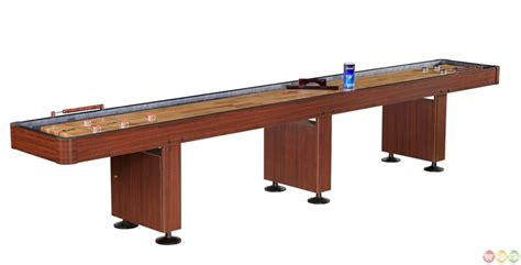 12 foot shuffleboard table shuffleboard 12 foot dark cherry finish game table