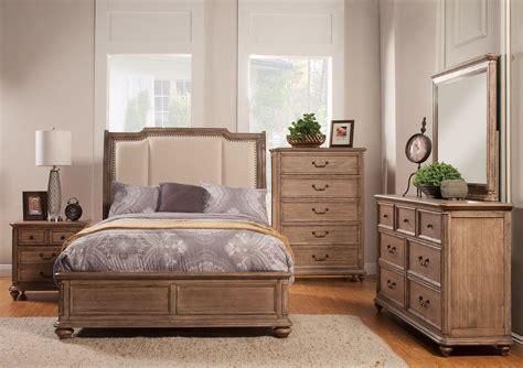 bedroom furniture melbourne fl melbourne truffle upholstered sleigh bedroom set from