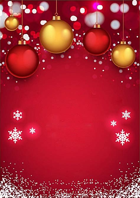 red christmas invitation background christmas